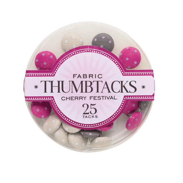 Cherry Festival Thumbtacks