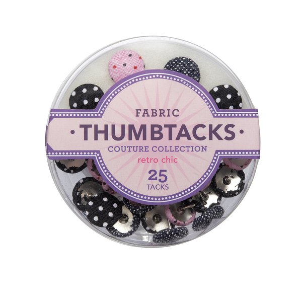 Retro Chic Thumbtacks
