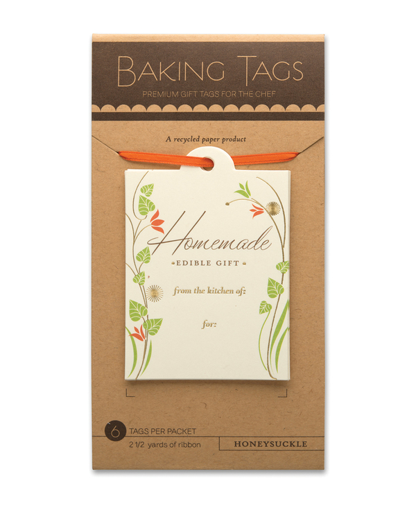 Honeysuckle Baking Tags