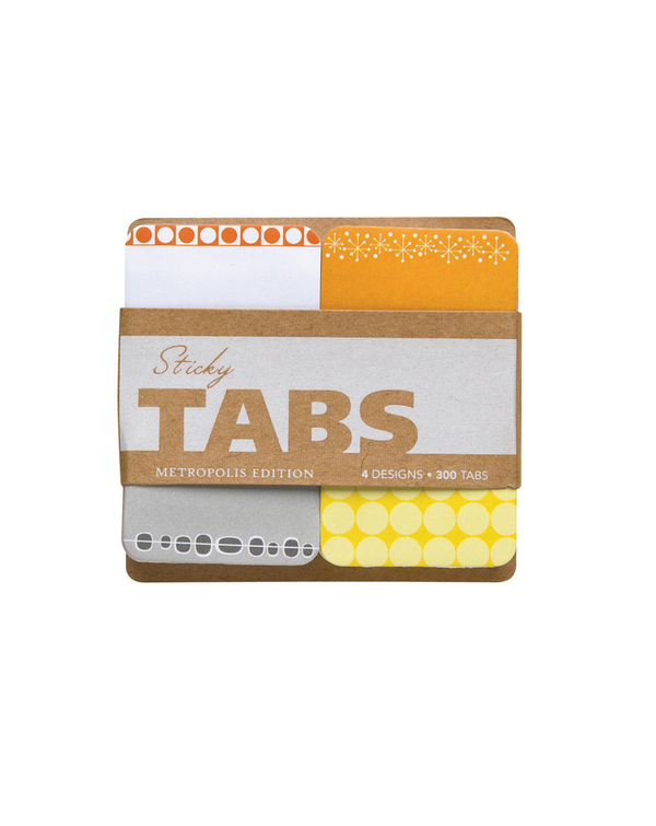 Sticky Tabs: Metropolis Edition