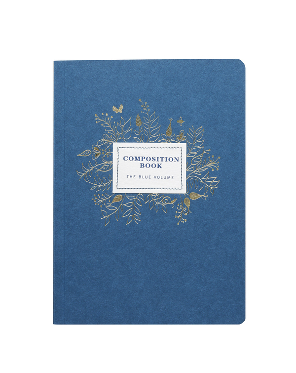 Indigo Composition Book