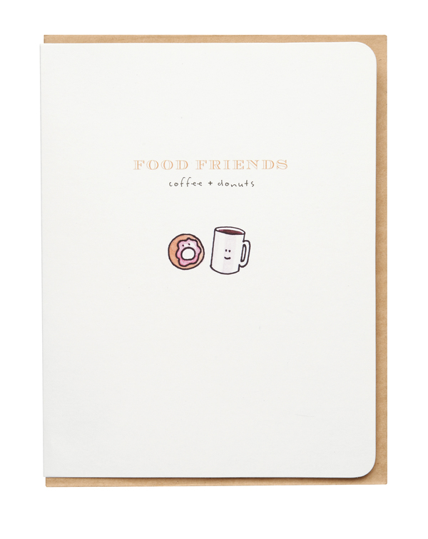 Food Lover's Cards: Coffee & Donuts