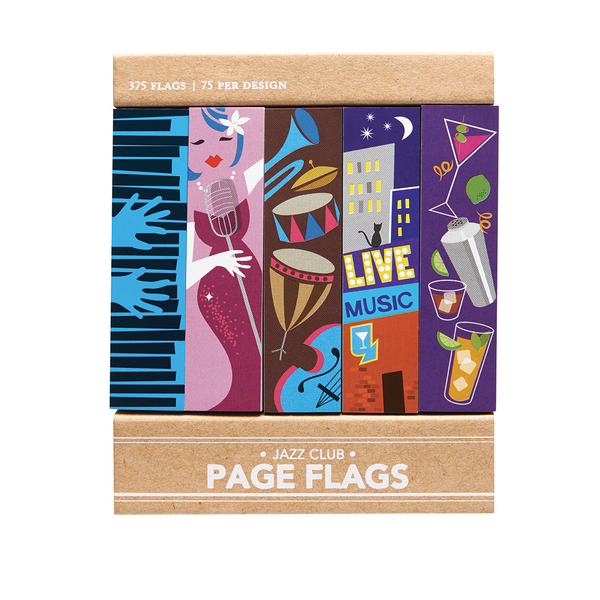 Jazz Club Page Flags