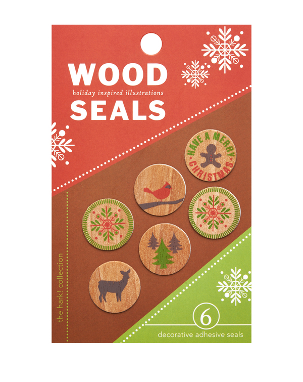 Holiday Wood Seals