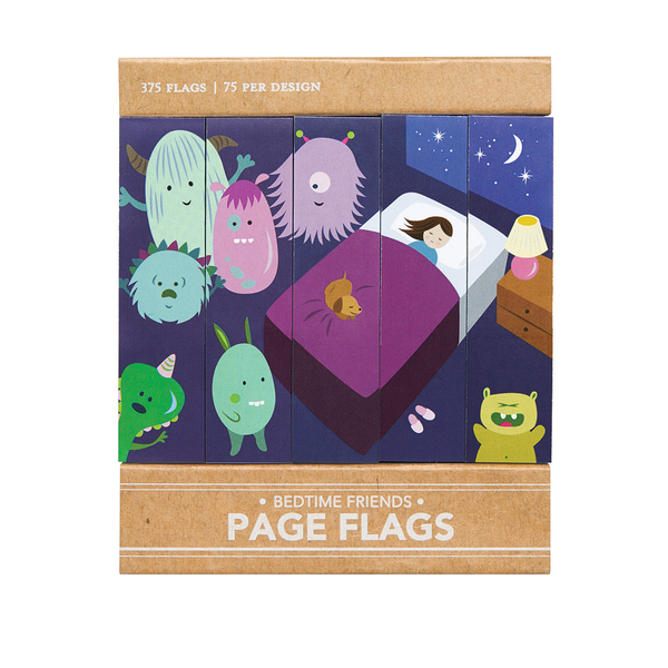 Bedtime Friends Page Flags