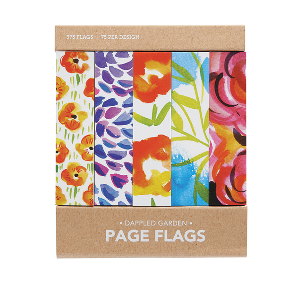 Dappled Garden Page Flags