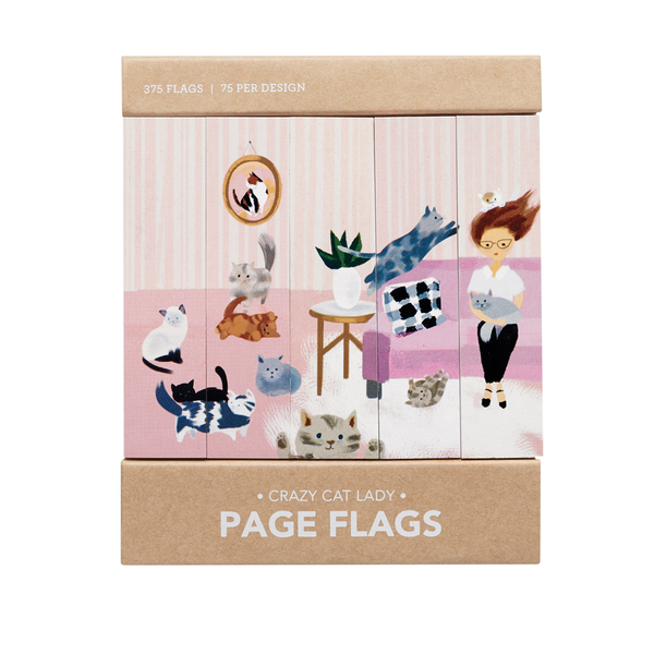 Crazy Cat Lady Page Flags