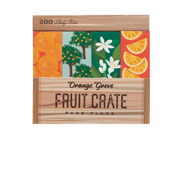 Orange Grove Fruit Crate Flags