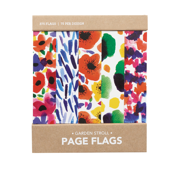 Garden Stroll Page Flags