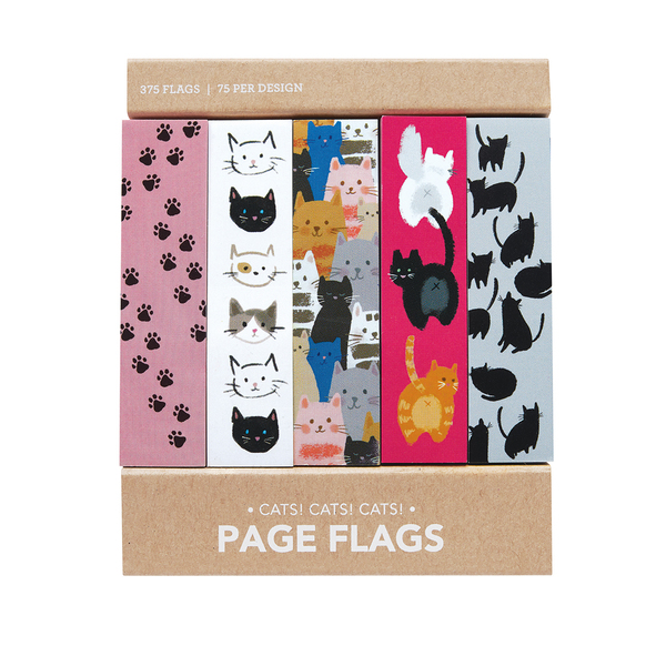 Cats! Cats! Cats! Page Flags