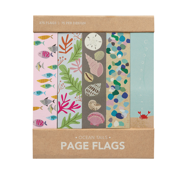 Ocean Tails Page Flags