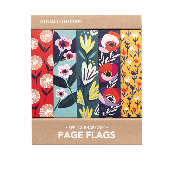 Spring Rhapsody Page Flags