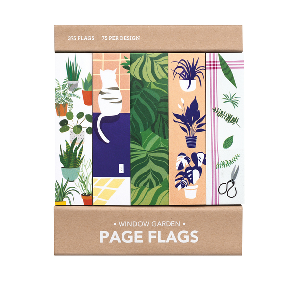 Window Garden Page Flags