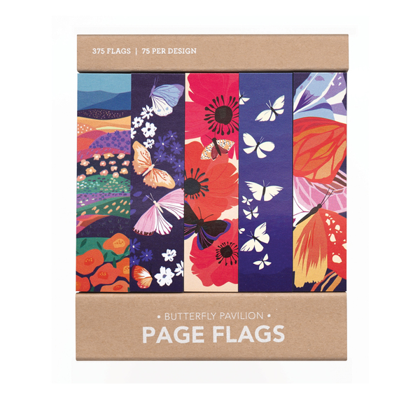 Butterfly Pavilion Page Flags