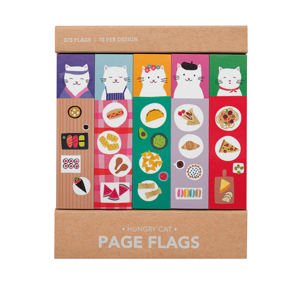 Hungry Cat Page Flags