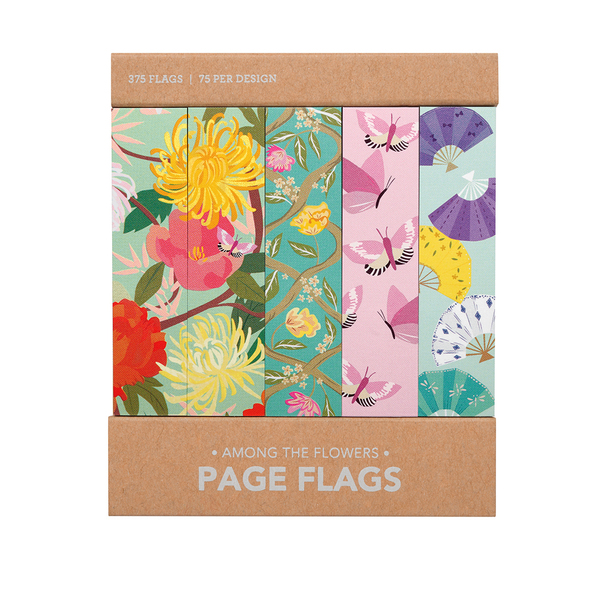 Among the Flowers Page Flags