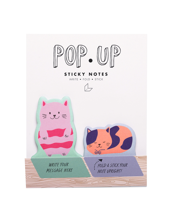 Cats Pop Up Sticky Note
